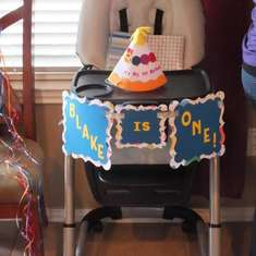 Blake's First Birthday Party - Baby Einstein