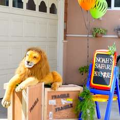 Noah's 1st Birthday! - Jungle, Safari, Animals