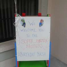 Super Johnston Brothers Birthday Bash - Super Mario Party
