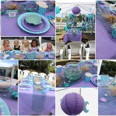 Rylee's 4th Birthday - Mermaids / Under the Sea