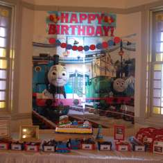 Thomas the Train 2nd Birthday! - Thomas & Friends