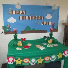 Evan's 10th Birthday Party - Super Mario Brothers