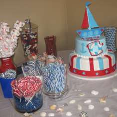 Eleonora's Baby Shower - Nautical