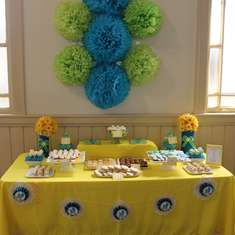 Baby Shower - Blue and Yellow