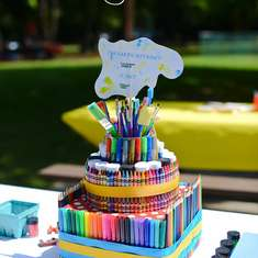 Rainbow Art Party - Art