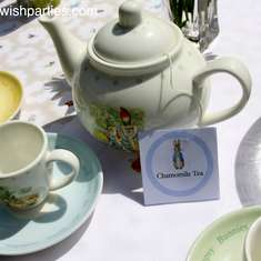 Peter Rabbit Tea Party - None