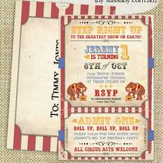 Vintage Circus Birthday Party - Vintage Circus