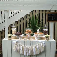 Rustic Easter Morning Tea - Easter Egg Hunt