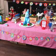 In the Night Garden - 1st birthday party