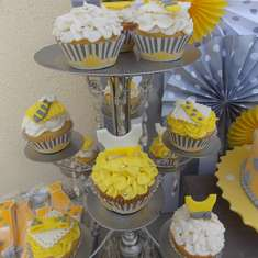 Ties or Tutus? - Yellow & Grey
