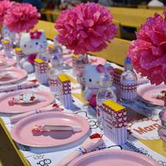 Hello Kitty inspired 4th Birthday party  - Hello Kitty