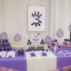 Purple Ombre Color Party - Art/Painting