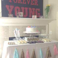 {Pink or Blue} Gender Reveal Party - Gender Reveal Party