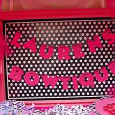 Lauren's 5th Birthday - Minnie Mouse Zebra/Hot Pink