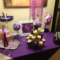 Kaiya's Purple Spa Party - Spa Party