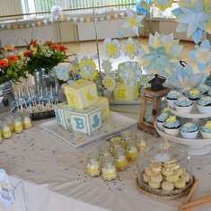 Country Garden Boy Baby shower - Spring, flowers