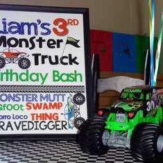Liam's 3rd Monster Truck Birthday Bash - Monster Trucks