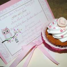 Owls and  tutu's - Pretty in Pink Owl