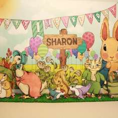 Sharon's Hoppy 1st Birthday - Peter Rabbit
