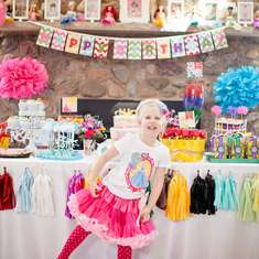 Cami's Disney Princess 4th Birthday Party - Disney Princess