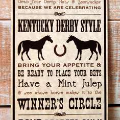 kentucky derby party - Kentucky Derby