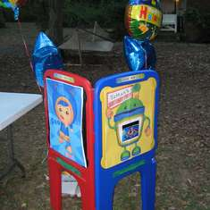 Nathan's 2nd Birthday - Team Umizoomi Carnival