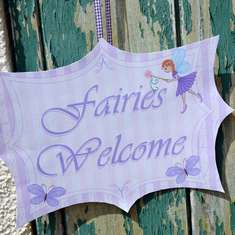 Fairy Garden Tea party - Faires
