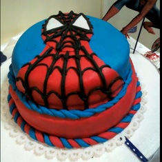 Benicio's Spiderman Party - Spiderman