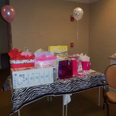 Baby Joanna Shower @ work - Hot Pink with Zebra Print