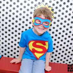 Super Sam's 4th Birthday Bash  - Superheros