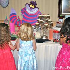 Alice in Wonderland Party - Alice in Wonderland, Mad Tea Party