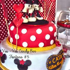 MOUSKE CUMPLE VINTAGE - Mickey & Minnie