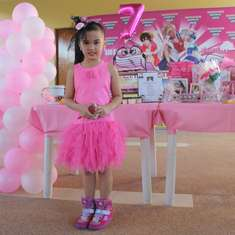 Keidi's 7th B-day Party - Hello Kitty, pink