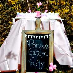 Princess Garden Party - Princess Tea Party