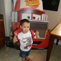 J's Cars Party - Disney Cars 2