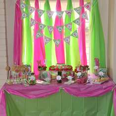 Mylee's 1st Birthday Party - Mod Monkey