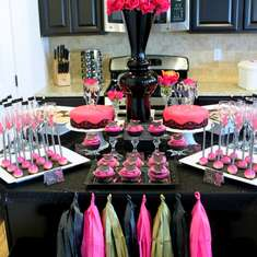 Mini Bachelorette Dessert Table - Engagement/Bachelorette/Ladies Night