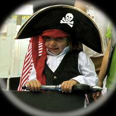 MATHEW EL PIRATA - Pirate Birthday Boy