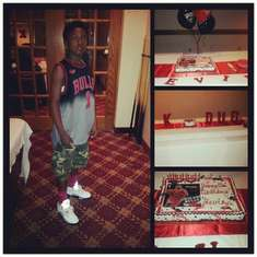 Kevin's 13th bday - Chicago Bulls