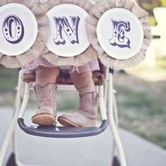 Sweet & Shabby Cowgirl Birthday Party - Cowgirl