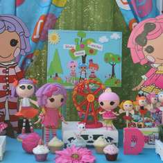 5th Birthday - Lalaloopsy inspired