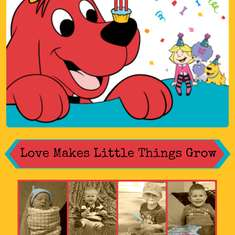 Lincoln's Clifford the Big Red Dog 3rd Birthday - Clifford the Big Red Dog