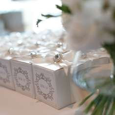 Joey and Hend's Wedding - White and Cream