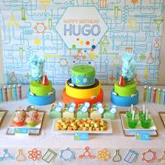 Professor Hugo's Scientific 8th Birthday - science