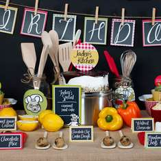 Little Chef Party Collection - Cooking Party