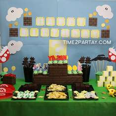 Super Mario 12th Birthday Party - Super Mario Party