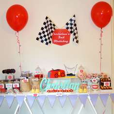 Vintage Racing Car Party - Race Cars
