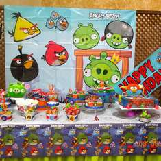 Dannys 5th Birthday - Angry Birds Space