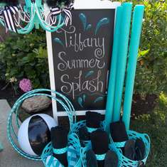 Tiffany Summer Splash - Tiffany inspiration