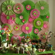 Green and Pink Woodland Animals Party - Woodland Forest